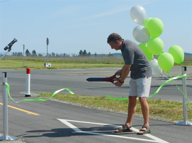 May - Grand Opening of The Flight Path community celebration.