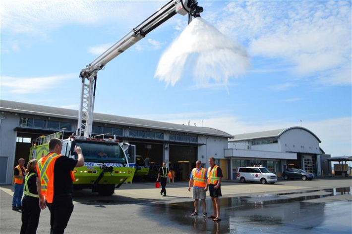August - Our President and CEO Geoff Dickson and Operations and Safety Director Ken Gallant take the ALS Ice Bucket Challenge.