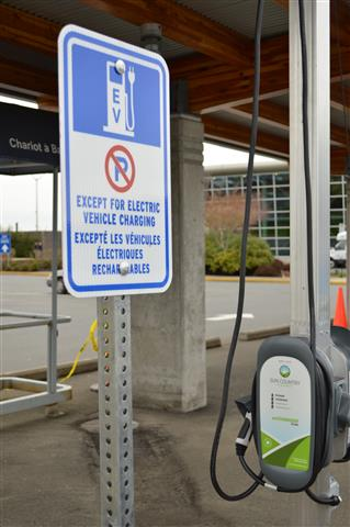 March - New Electric Vehicle Charging Station.
