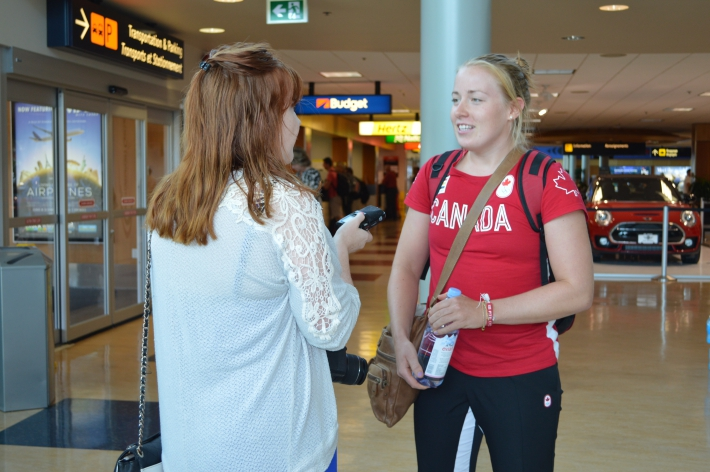 August - It was great to welcome Olympic Athletes home from Rio!