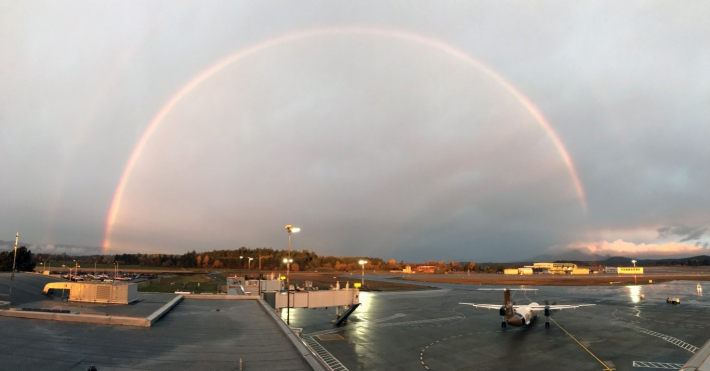 November - Rainbow on Apron IV.