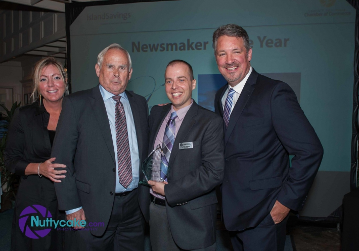 October - Saanich Peninsula Chamber of Commerce Crystal Awards News Maker of the Year!