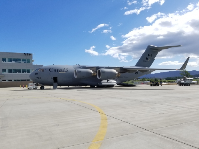 Canadian Forces C-17 Globemaster