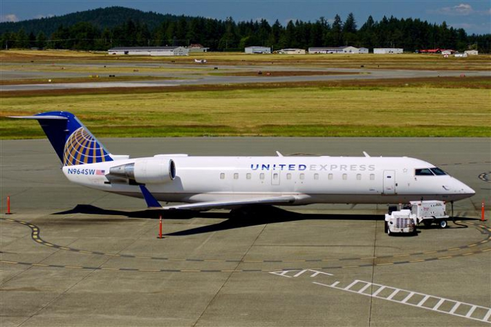 United Express CRJ 700  July 2013