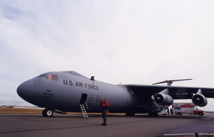 United States Airforce C-141 Lockheed