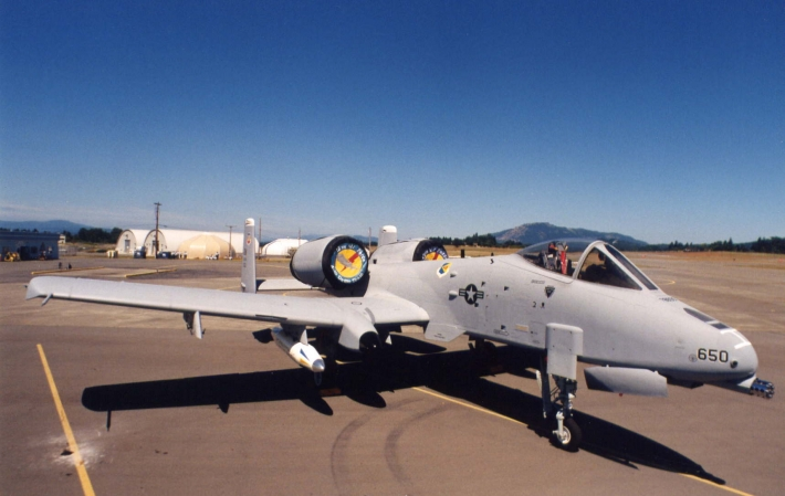 United States Fairchild Airforce Base A-10 Thunderbolt II