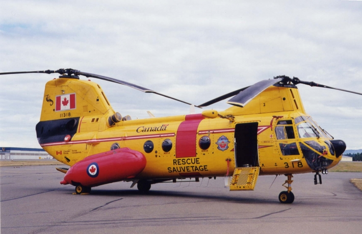 Canadian Forces Search & Rescue Labrador Helicopter.
