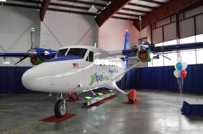Viking Air's 50th Twin Otter roll out.