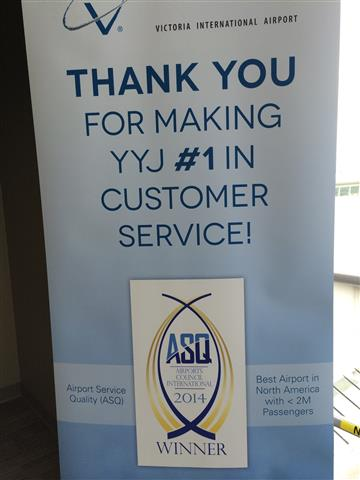 February - Airport Service Quality (ASQ) Award Staff Appreciation event.