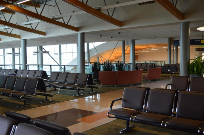 September - Upper Passenger Departure Lounge