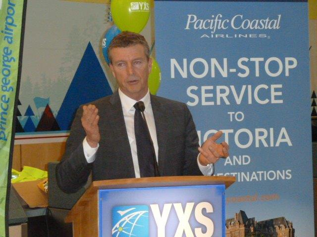 Pacific Coastal service to Prince George (YXS) Launch.