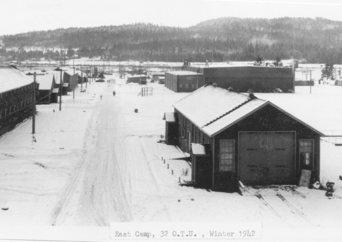 East Camp in the Winter of 1942.