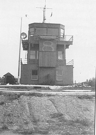 YYJ's original air traffic control tower.