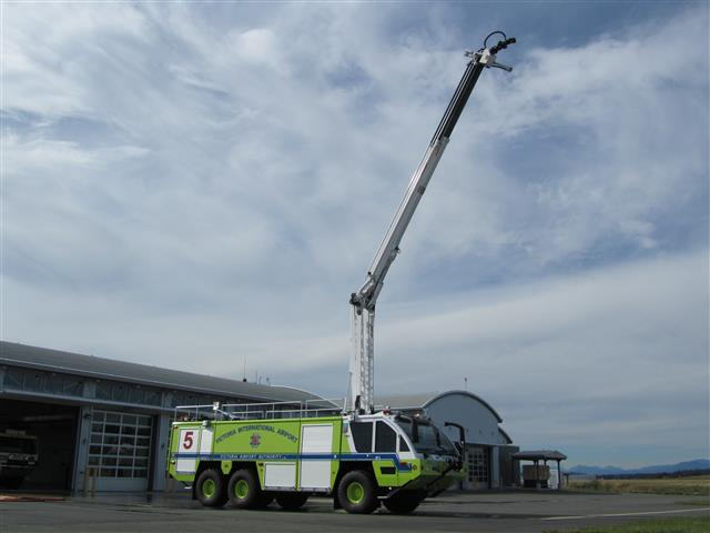 March - Rosenbauer Aircraft Rescue and Fire Fighting Vehicle (ARFF).
