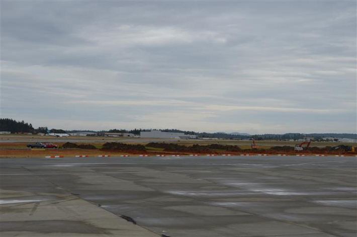 September 1 - Apron IV Expansion underway.