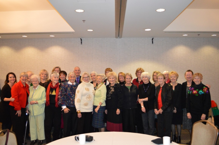 December - Annual Victoria International Airport Red Coat Volunteers Christmas Luncheon!