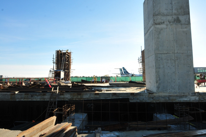October - Lower Passenger Departure Lounge Expansion Project progress photo
